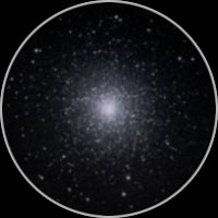 M13 Through a Telescope