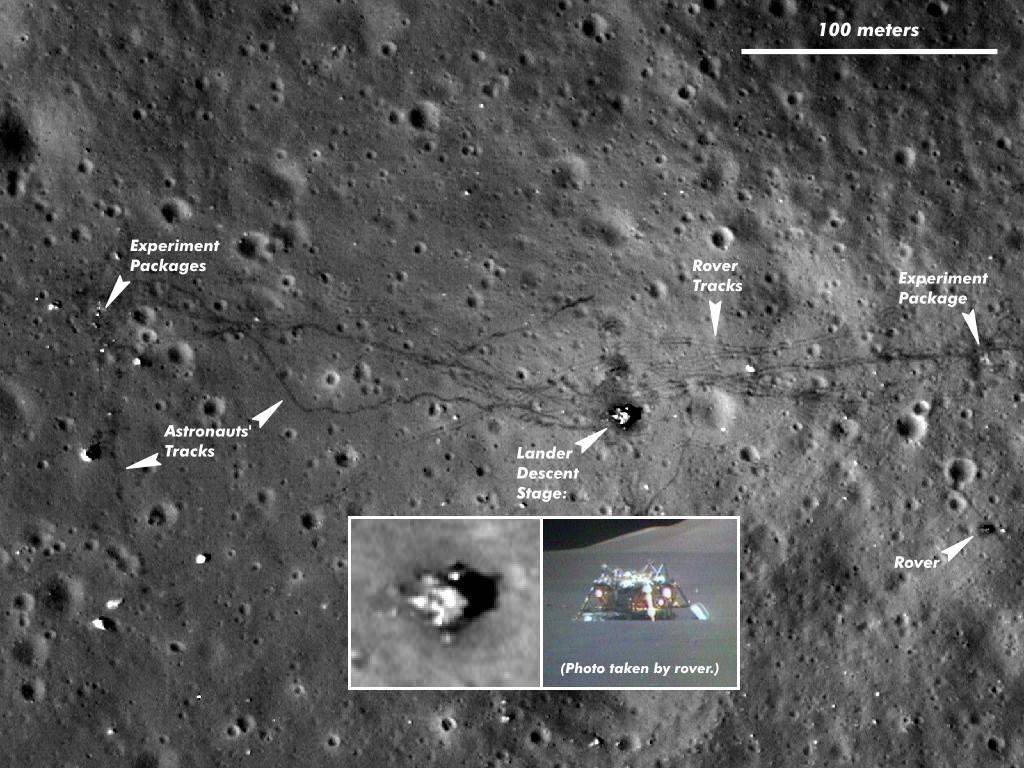 proof of landing on the moon telescope -#main